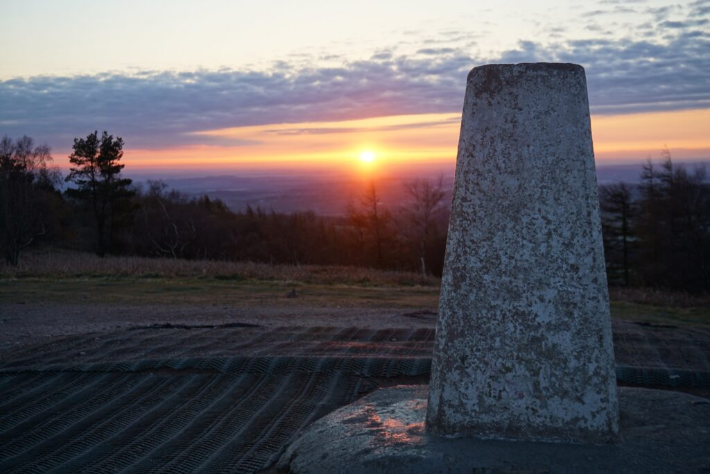 Trig-Point-Wrekin-Shropshire